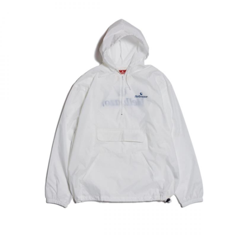Hellrazor Trademark Logo Pullover JKT - White