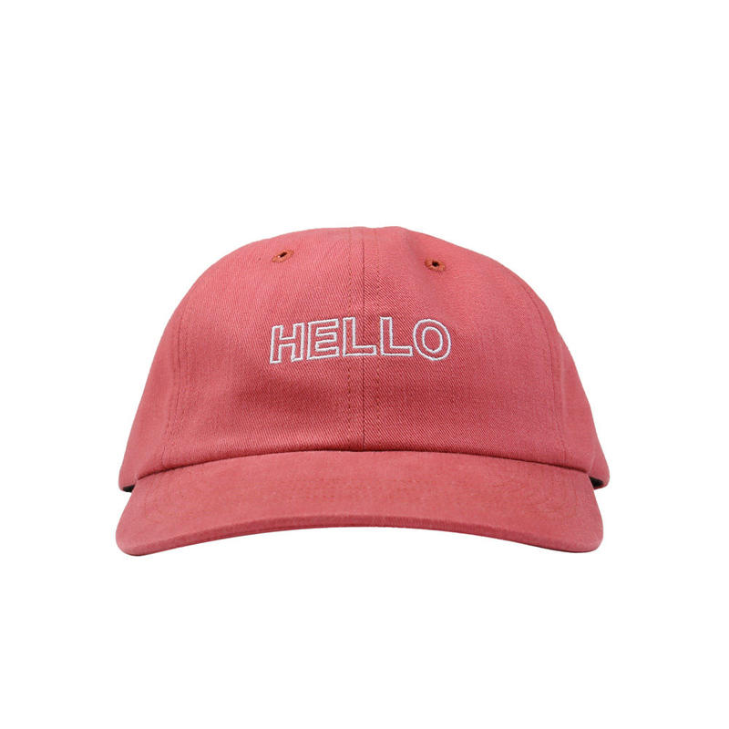 CALL ME 917 Shalom Hat Red