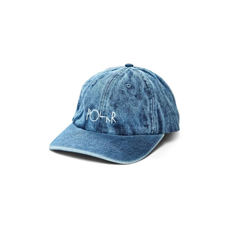 POLAR SKATE CO. DENIM CAP LIGHT BLUE
