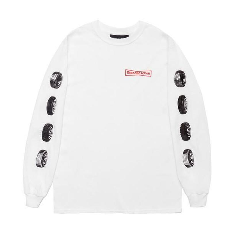 CALL ME 917 91 Stone Long Sleeve T-Shirt White