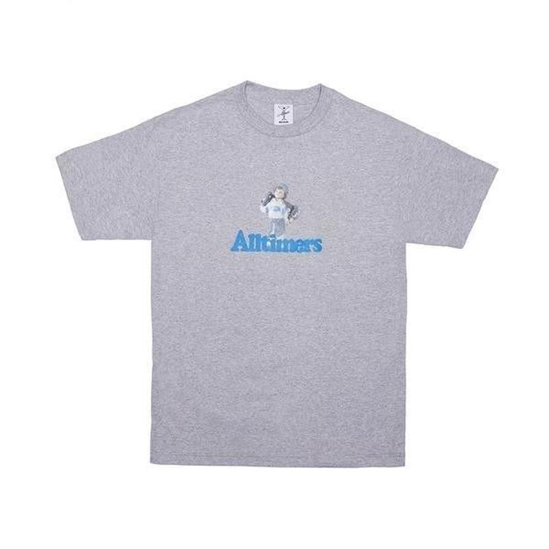 ALLTIMERS LIL ANGEL TEE HEATHER GREY