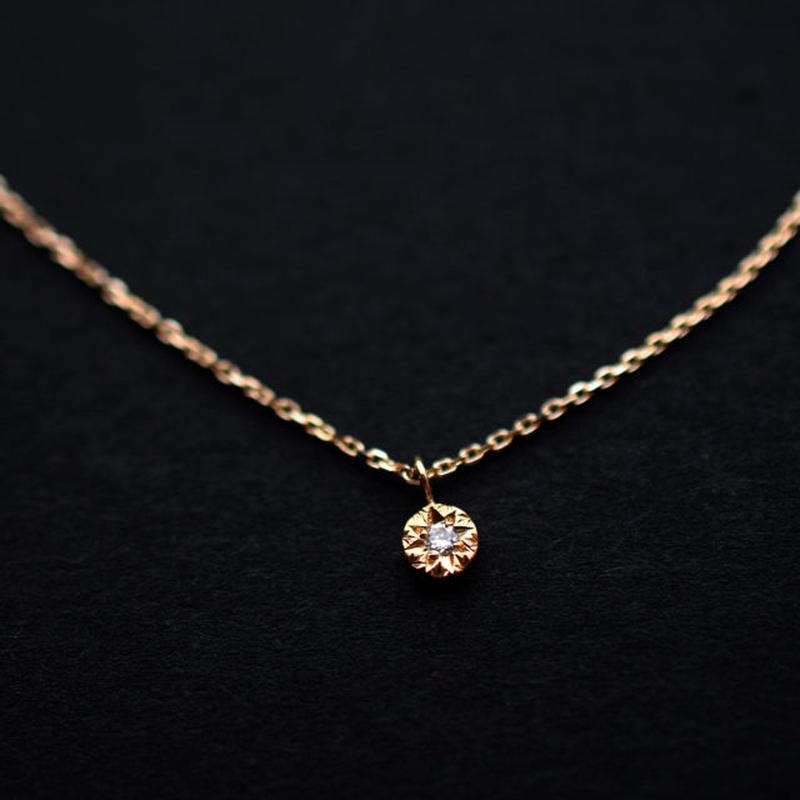 《ジョル二・プティ》K10イエローゴールド・ダイアモンド・ネックレス