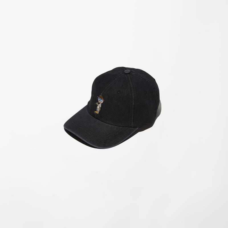 ILLCOMMONS DENIM CAP BLACK(イルコモンズ デニムキャップ ブラック)
