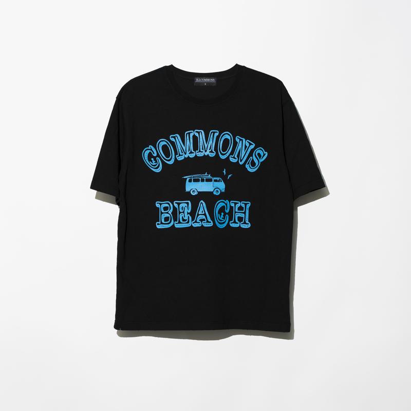 ILLCOMMONS SURF TRIP T-SHIRTS BLACK(イルコモンズ サーフトリップ Tシャツ ブラック)
