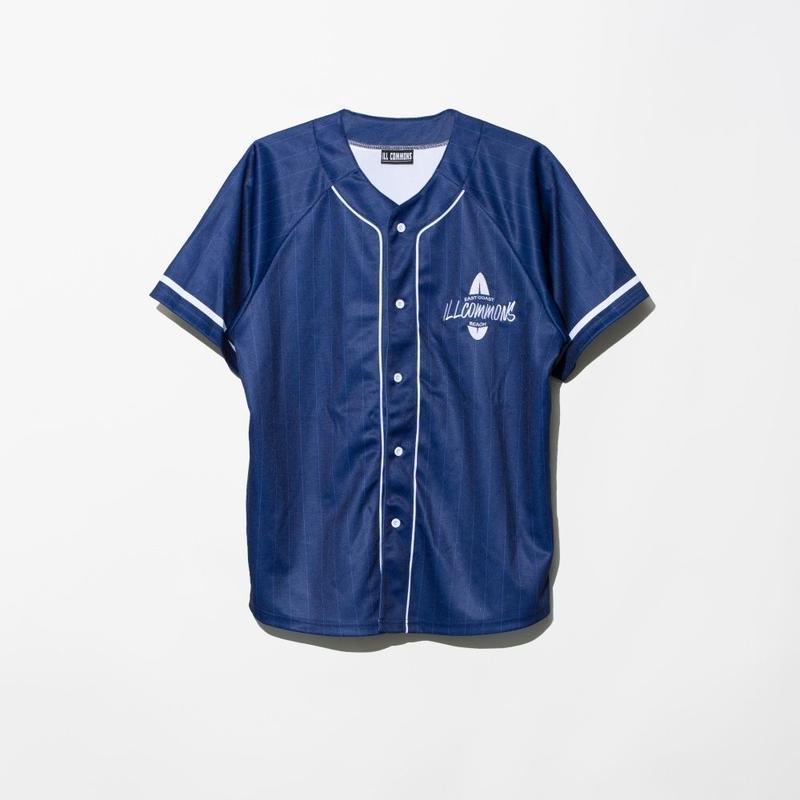 ILLCOMMONS STRIPE BASEBALL SHIRTS (イルコモンズ ストライプベースボールシャツ)