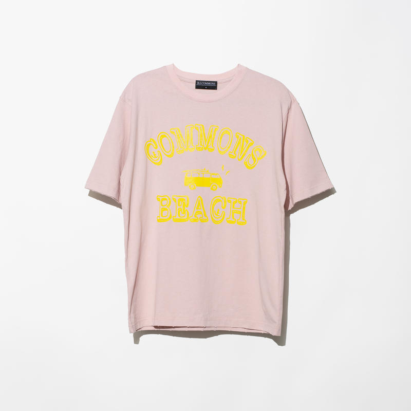ILLCOMMONS SURF TRIP T-SHIRTS PINK(イルコモンズ サーフトリップ Tシャツ ピンク)