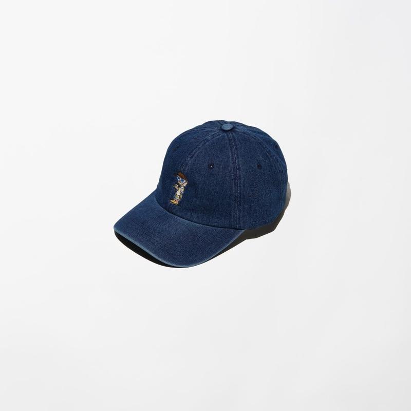 ILLCOMMONS DENIM CAP BLUE(イルコモンズ デニムキャップ ブルー)