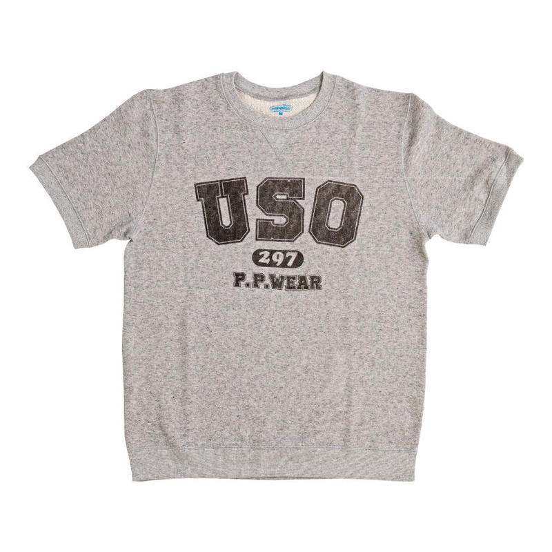 USO297 S/S SWEAT (GRAY)