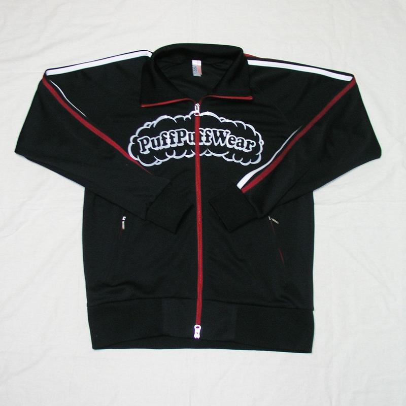 Puff Puff Jersey JACKET (BLACK/RED/WHITE)