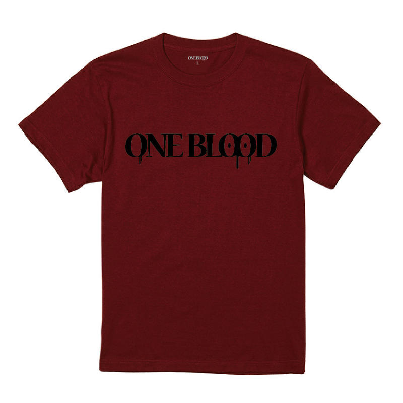 【TAPPOI ORIGINAL BRAND】ONE BLOOD REGULAR TEE(BURGUNDY)