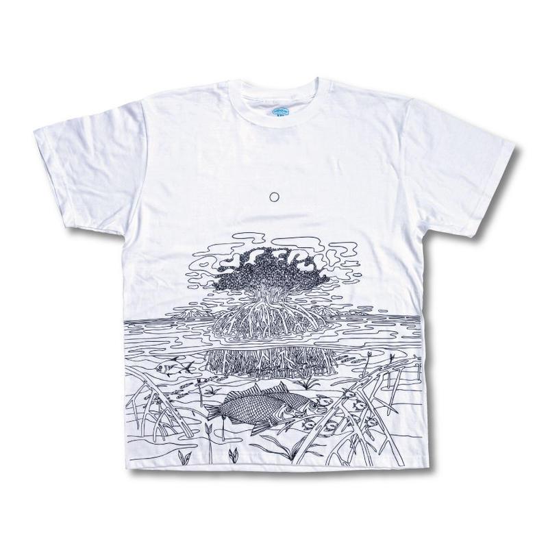 【狩集広洋】マングローブ TEE (WHITE)