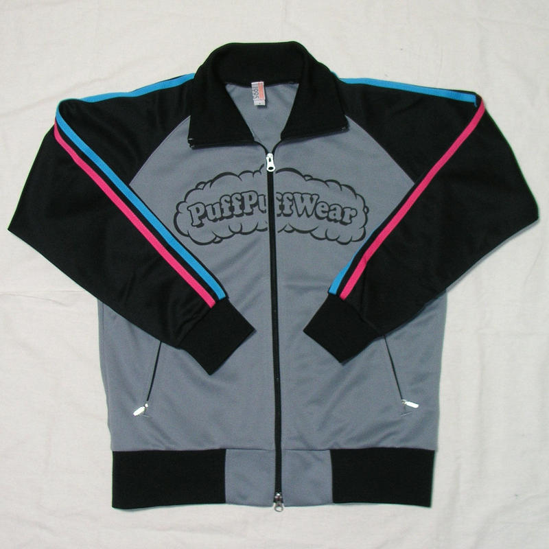 Puff Puff Jersey JACKET (GRAY/BLUE/PINK)