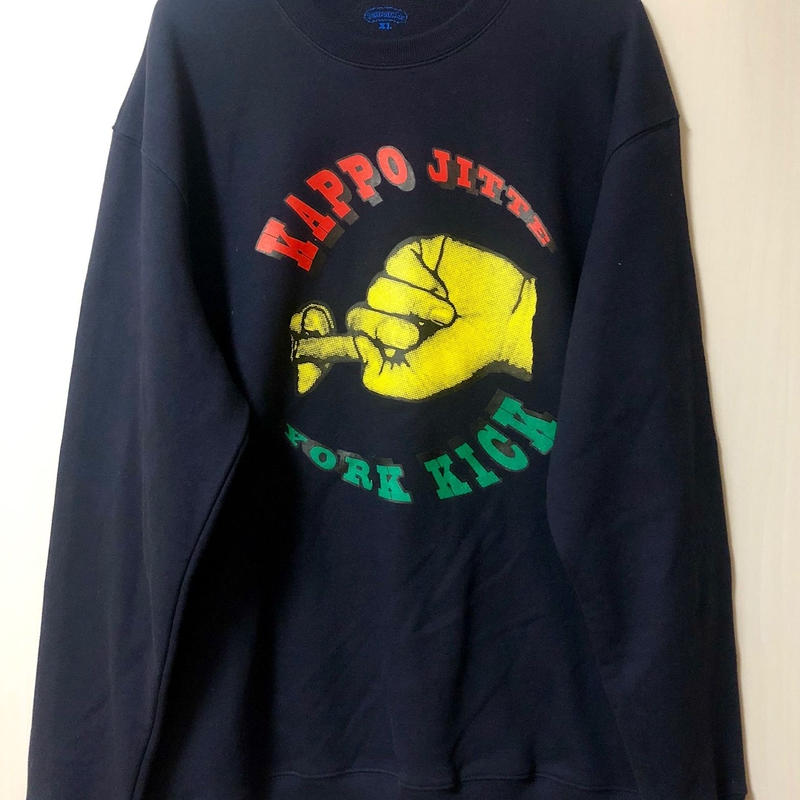 KAPPOJITTE  CREW NECK SWEAT (Rhymes Square ver)