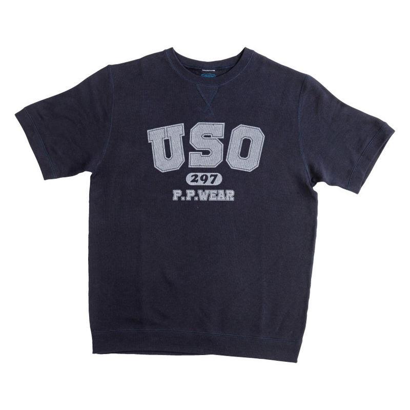 USO297 S/S SWEAT (NAVY)
