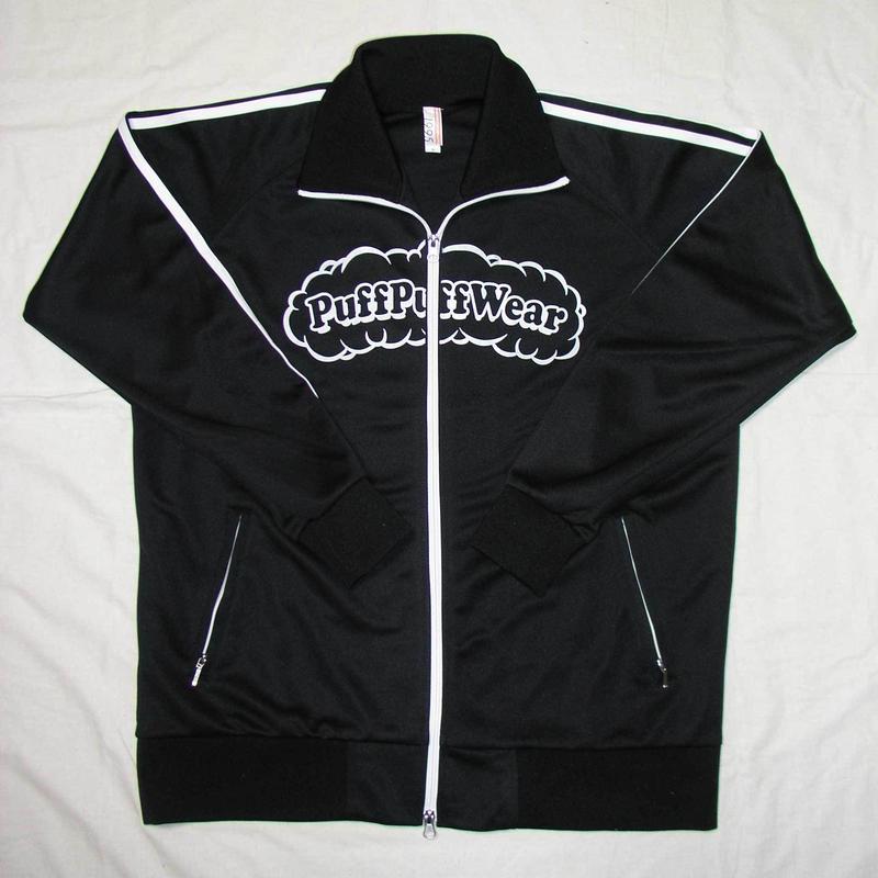 Puff Puff Jersey JACKET (BLACK/WHITE)