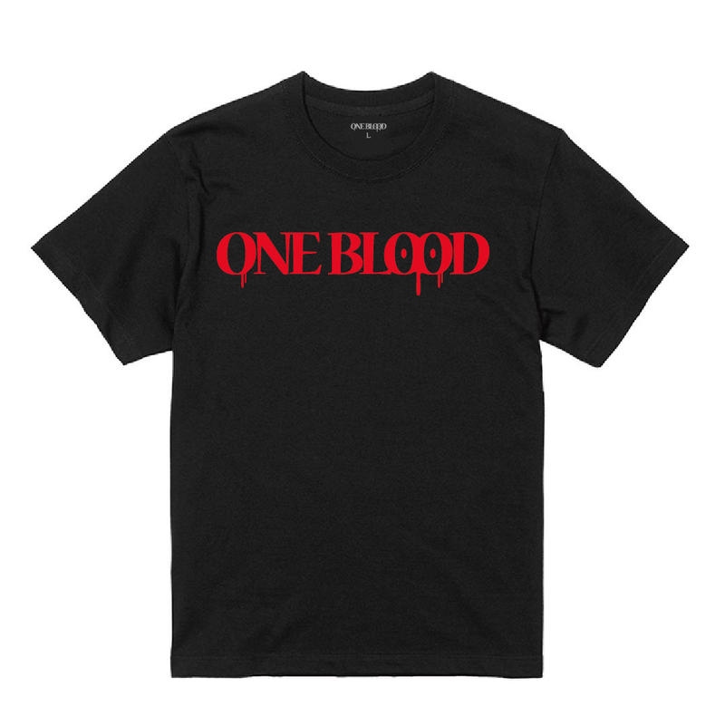 【TAPPOI ORIGINAL BRAND】ONE BLOOD REGULAR TEE(BLACK)