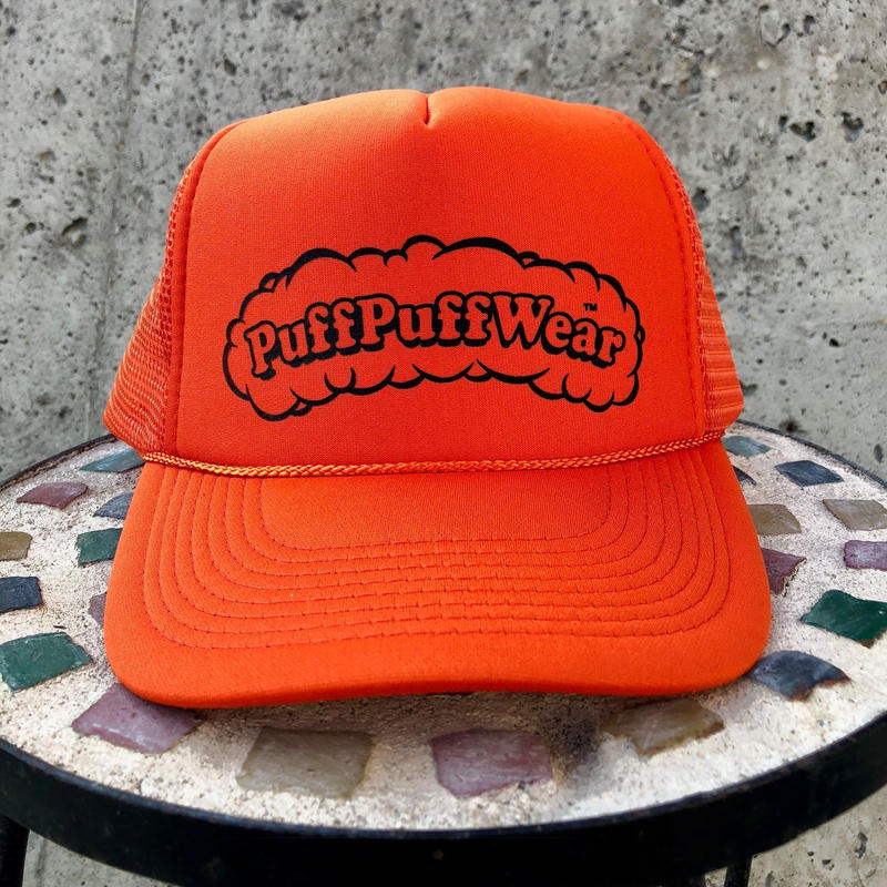Puff Puff MESH CAP (ORENGE/BLACK)