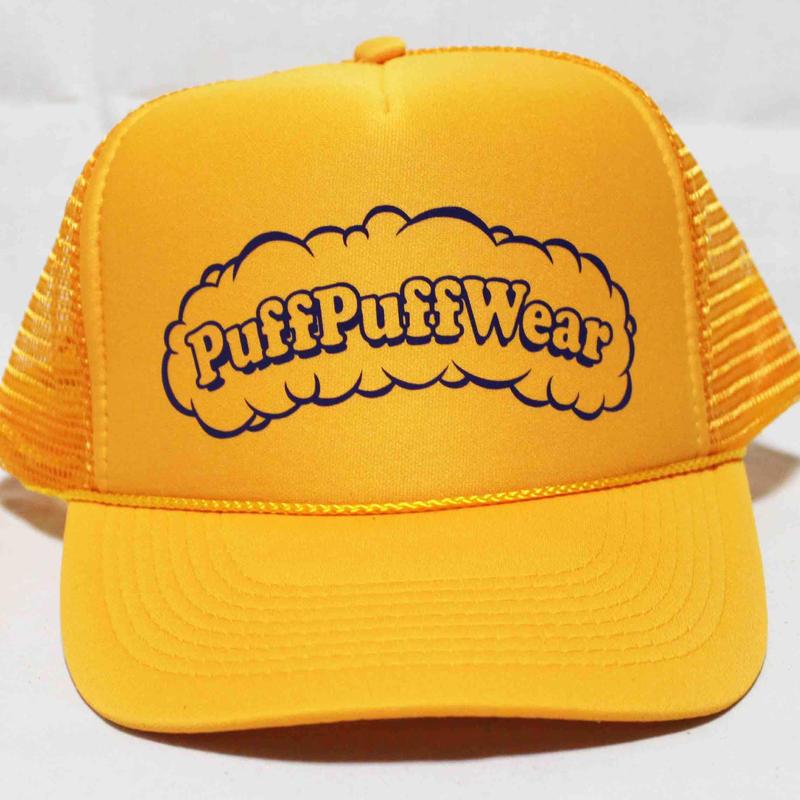 Puff Puff MESH CAP (GOLD/PURPLE)