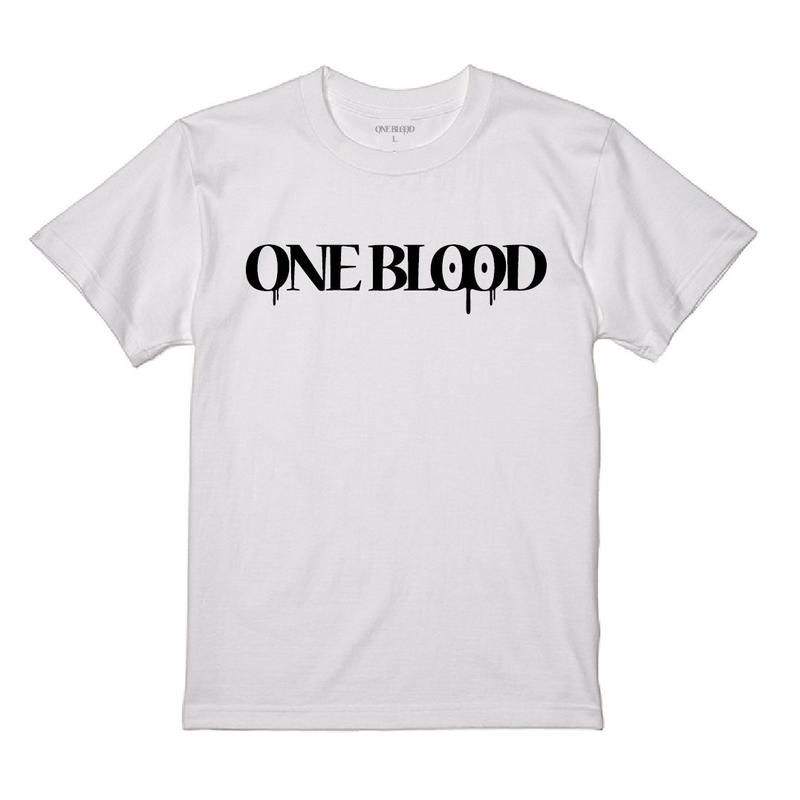 【TAPPOI ORIGINAL BRAND】ONE BLOOD REGULAR TEE(WHITE)