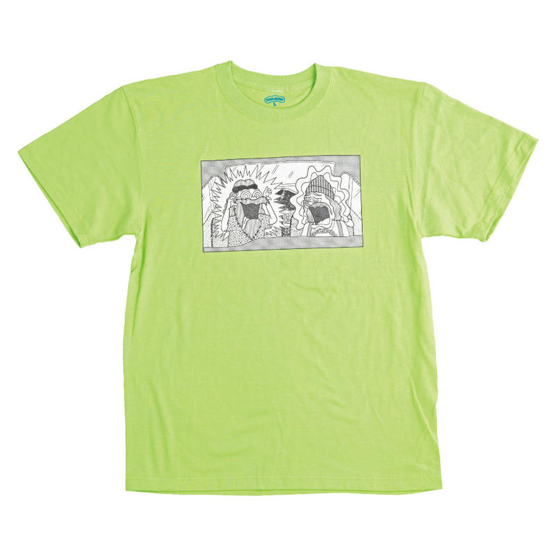 C&C TEE (LIME GREEN )