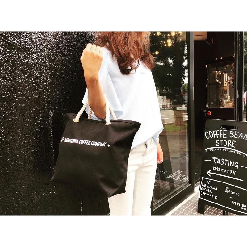 KARUIZAWA COFFEE COMPANYロゴトート(BLACK)