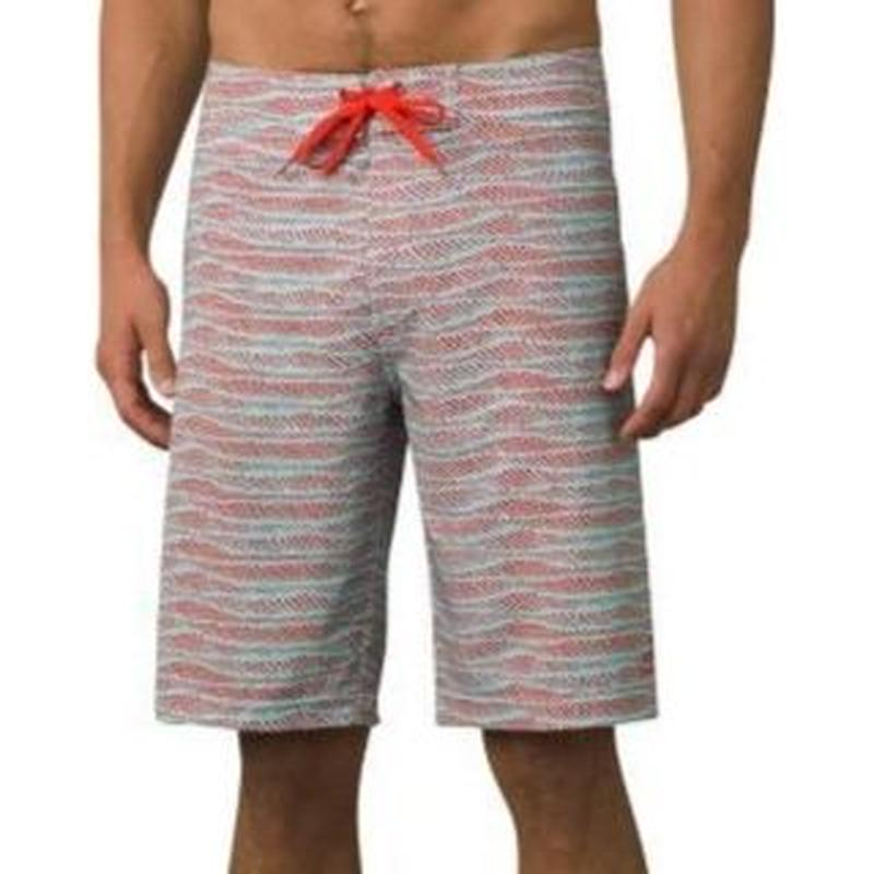 PRANA SEDIMENT SHORT Surf Blue Current