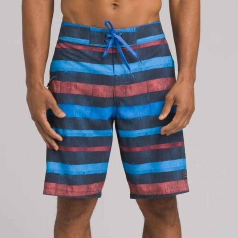 PRANA FENTON BOARD SHORT Nautical Woodland