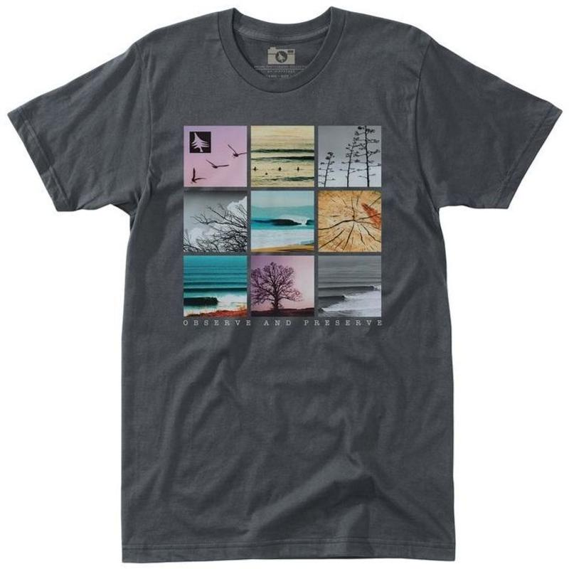 HIPPY TREE GRIDPOINT TEE Charcoal