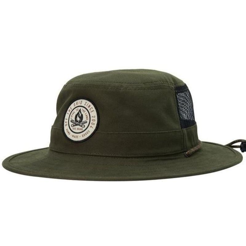HIPPY TREE VENTURA HAT ARMY