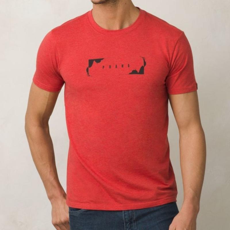 PRANA Block T-Shirt Harvest Orange