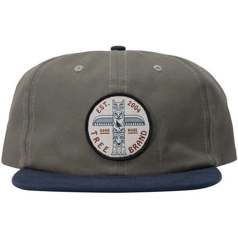 HIPPY TREE MONUMENT HAT CHARCOAL