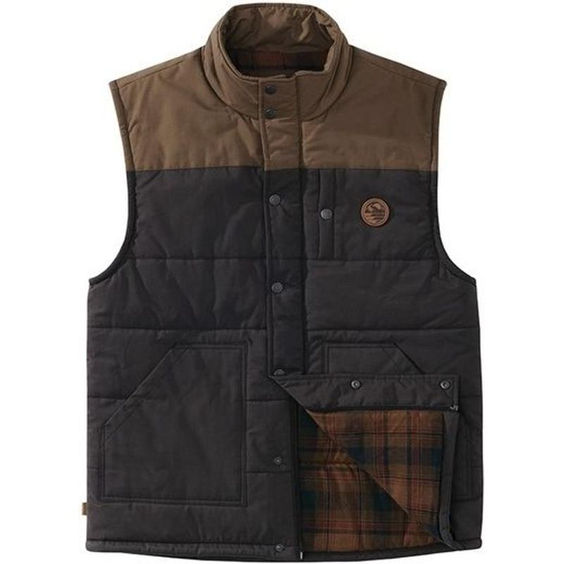 HIPPY TREE MULE VEST Brown