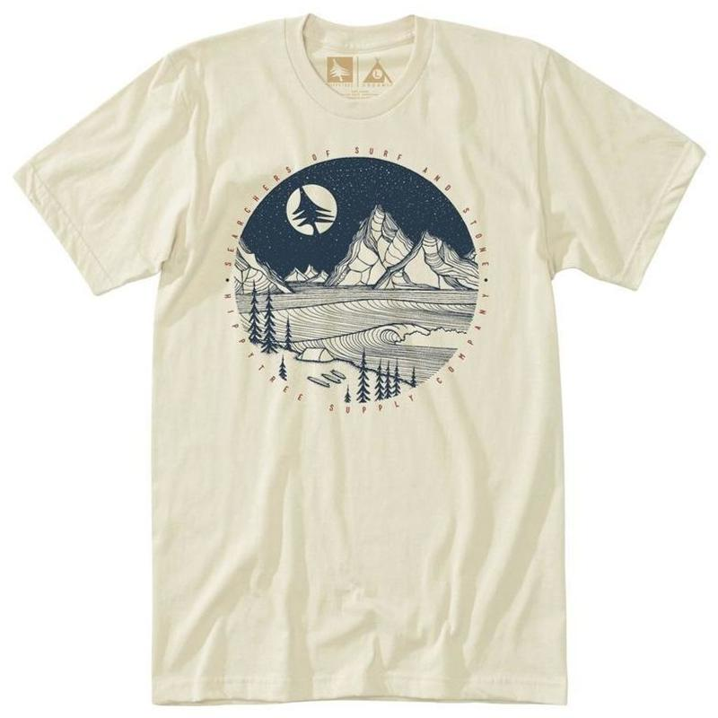 HIPPY TREE MOONLIGHT TEE NATURAL