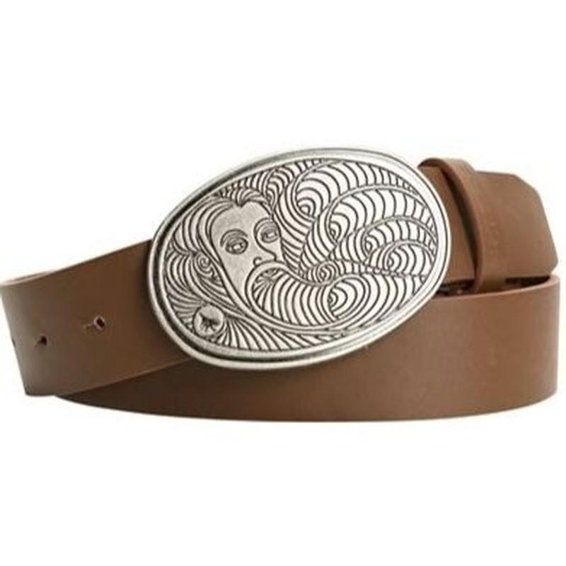 HIPPY TREE Genuine Metal Buckle Belt