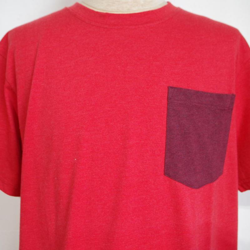 PRANA Pocket T-Shirt Red  Ribon