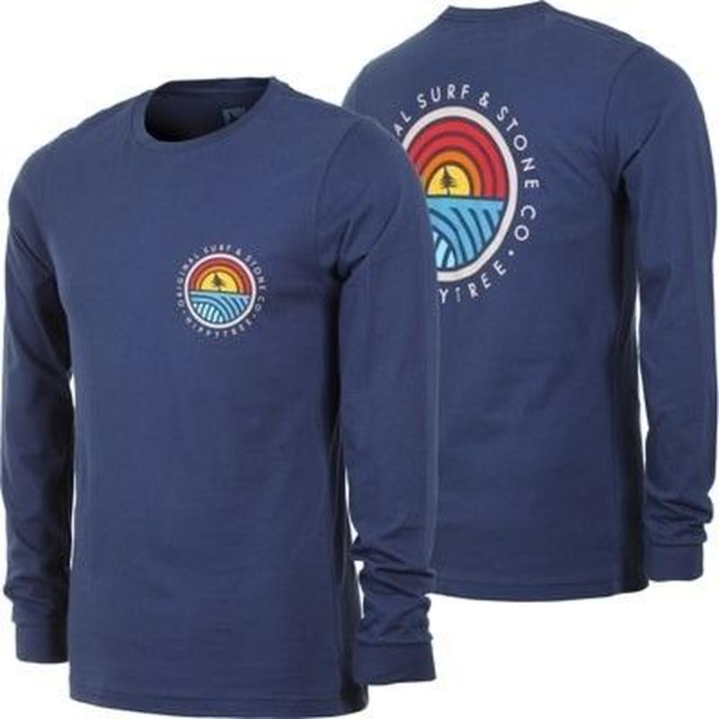 HIPPY TREE COMMUNITY L/S TEE Navy