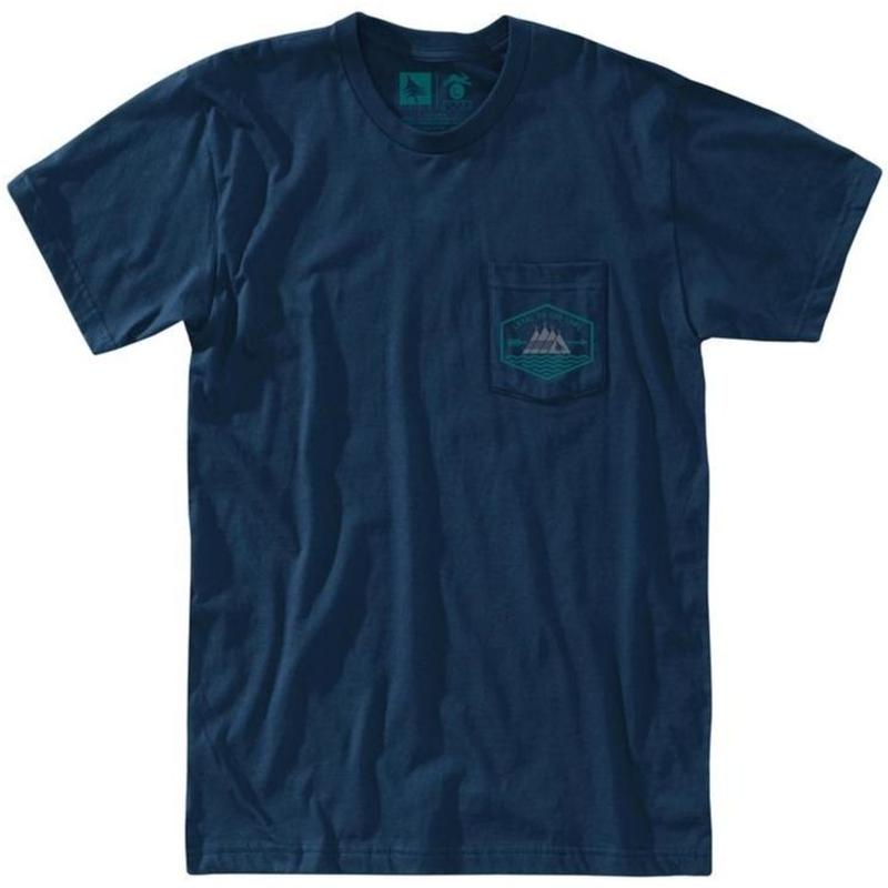 HIPPY TREE CHEROKEE TEE NAVY