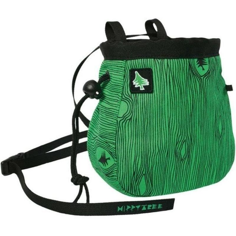 HIPPY TREE WALNUT CHALK BAG GREEN