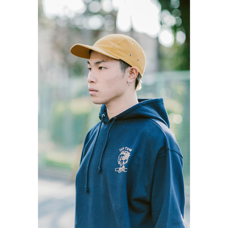 SANTOWN Five Panel Cap - Yellow