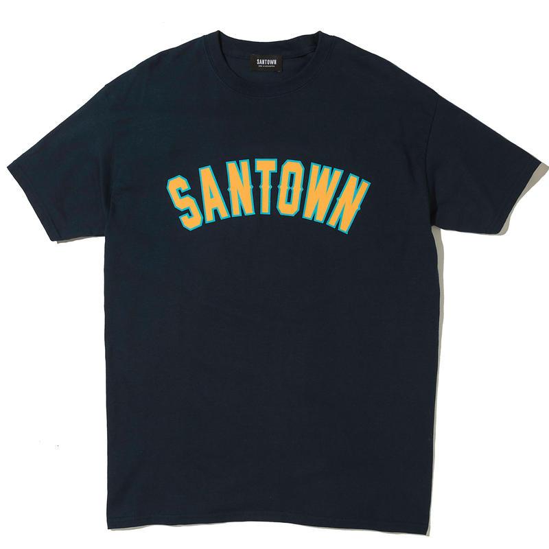 SANTOWN College S/S Tee - Navy