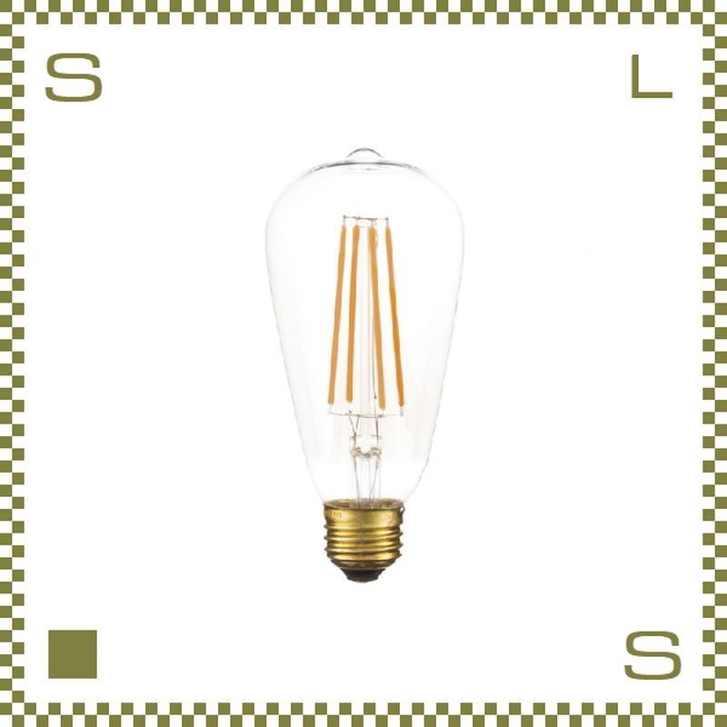 エジソンバルブ LED Lサイズ W6.4/D6.4/H14cm レトロ電球 azu-led102