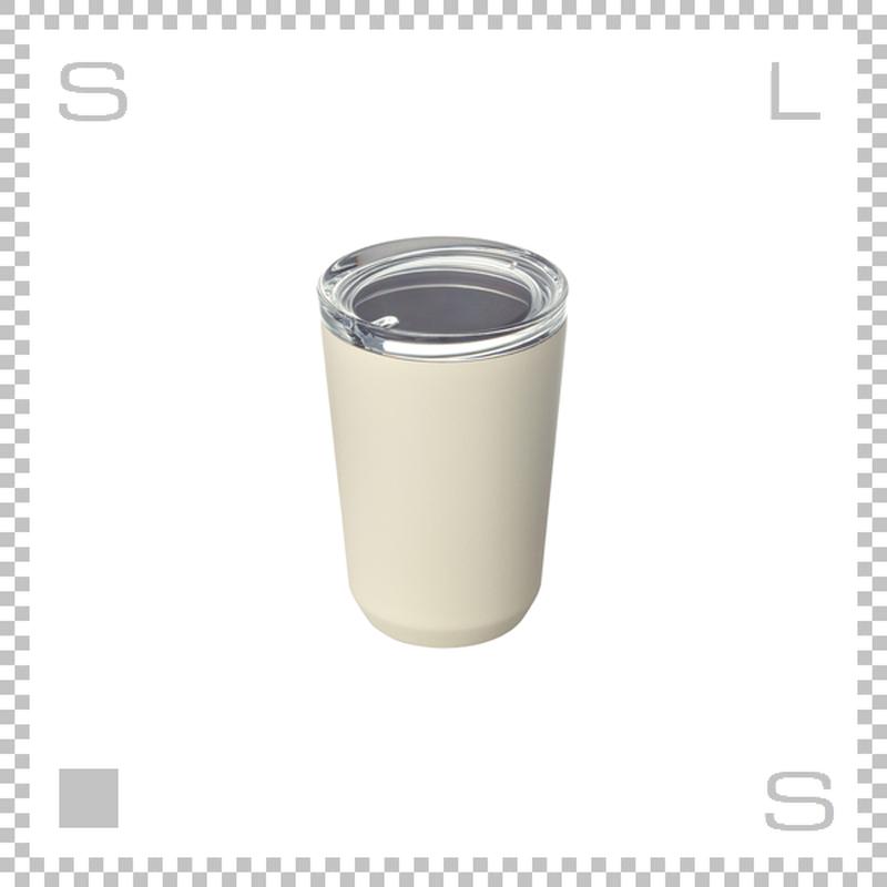 KINTO キントー トゥーゴータンブラー ホワイト 360ml ステンレスボトル マグボトル 携帯ボトル