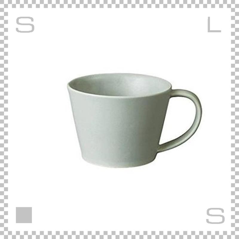 SAKUZAN サクザン SARA サラ コーヒーカップ グレー 190cc パステルカラー 日本製
