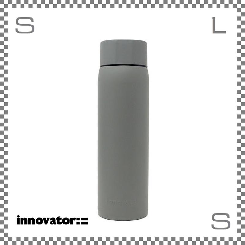 Innovator イノベーター ステンレスボトル 480ml スチールグレー Φ63/H216mm 携帯ボトル 魔法瓶 水筒
