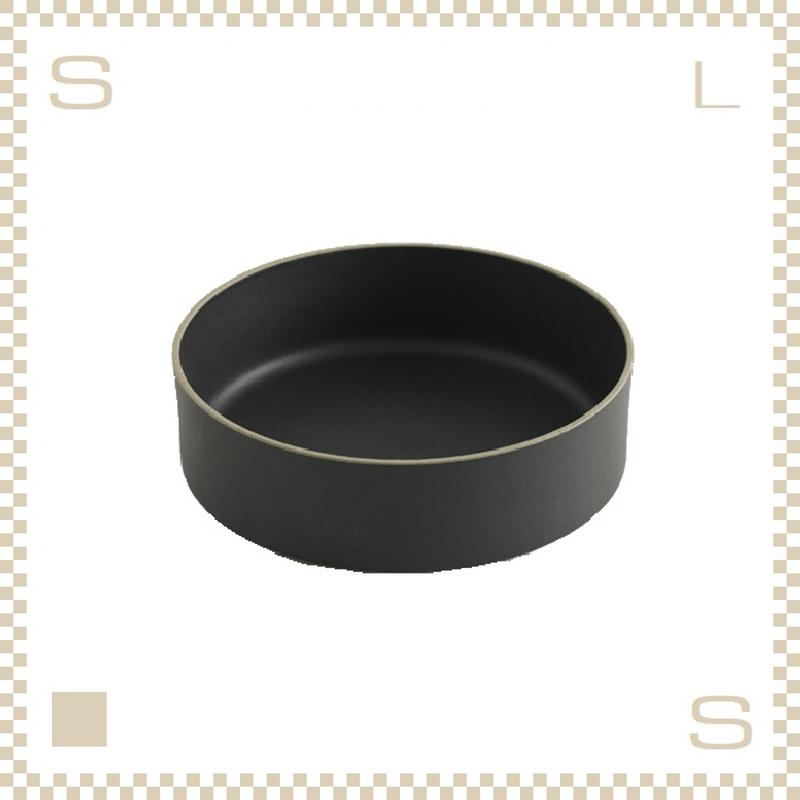 ハサミポーセリン ボウル 直径185mm ブラック Φ185/H55mm スタッキング可 HPB009 Hasami Porcelain