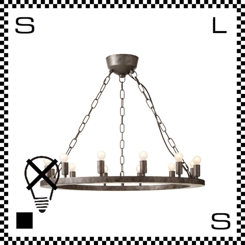 アートワークスタジオ Elements12 電球なし アンティークシャンデリア 12灯 Φ685/H205mm 上向きシャンデリア クラシック レトロ AW-0381Z