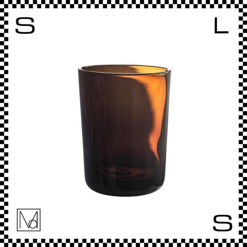 Manses Design モンセスデザイン タンブラー アンバー 350ml Φ80/H105mm グラス スウェーデン