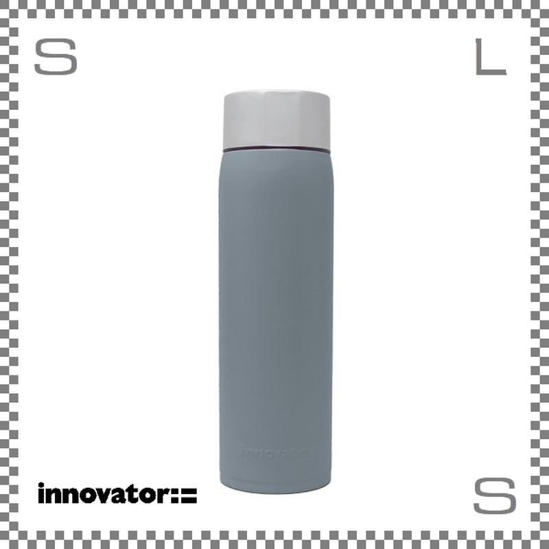 Innovator イノベーター ステンレスボトル 480ml ブルーグレー Φ63/H216mm 携帯ボトル 魔法瓶 水筒
