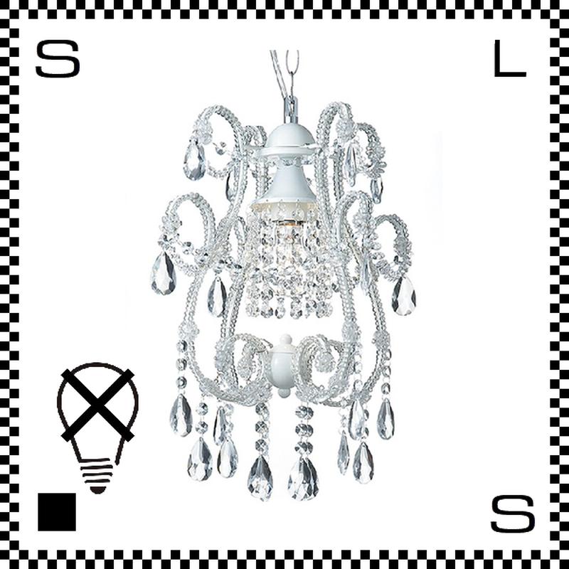 アートワークスタジオ シャンデリア ミニ Eden1 クローム 電球なし Φ340/H430mm アンティーク風 AW-0229Z-WH