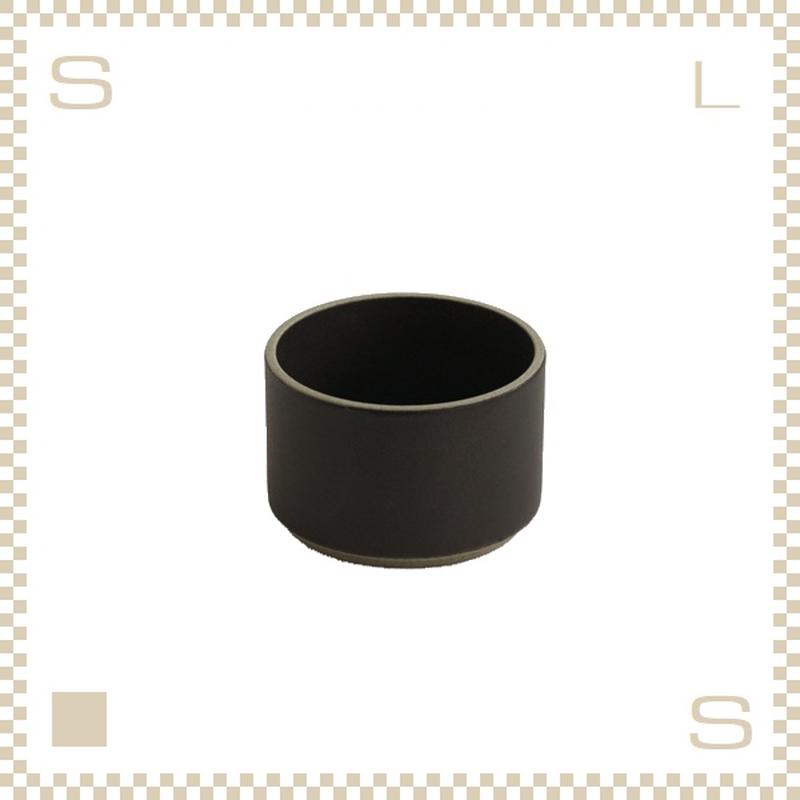 ハサミポーセリン ボウル 直径85mm ブラック Φ85/H55mm スタッキング可 HPB007 Hasami Porcelain